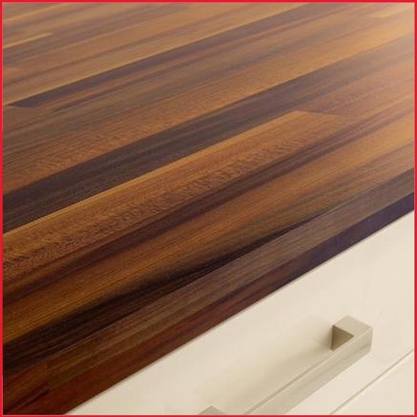 Laminate Wood Kitchen Worktops: Häfele Iroko Wooden Worktop Kitchen Block Effect