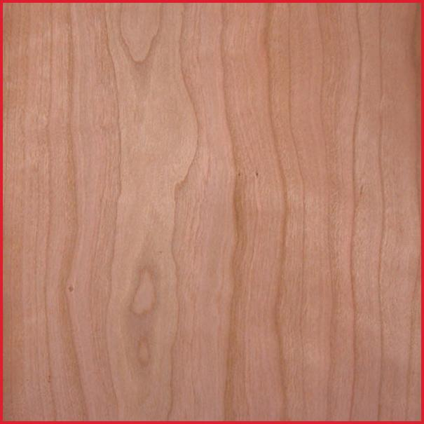 Cherry Mdf Veneered Sheet Material Real Wood