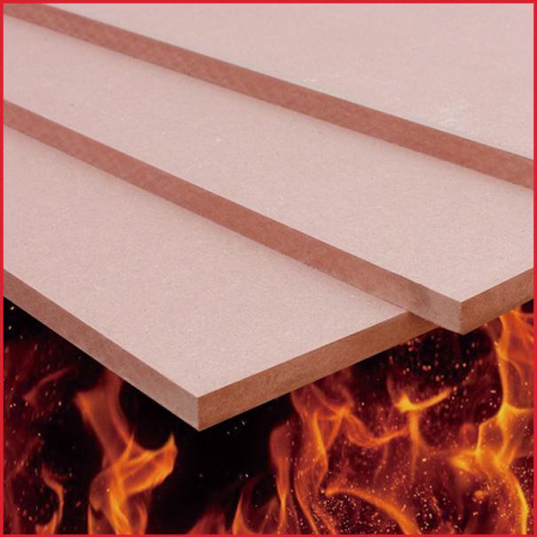 Building Board Fireproof Tar Sheets : Flame retardant mdf class b min  mm