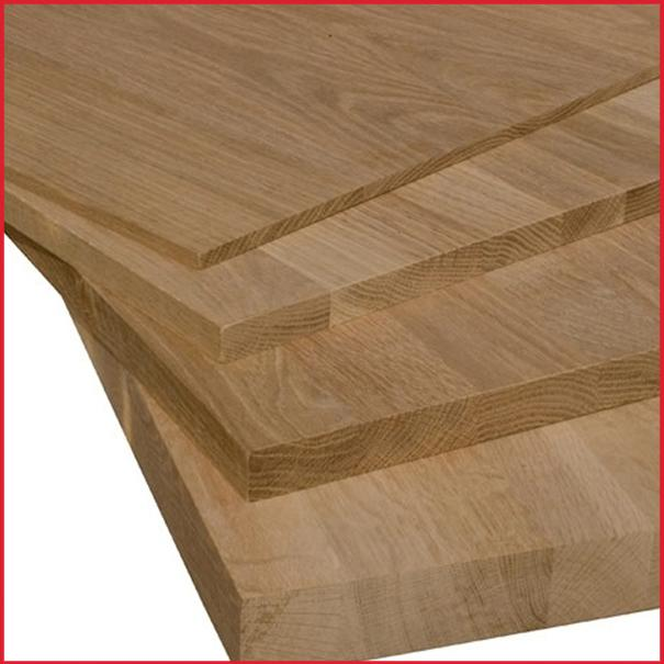 Solid Oak Furniture Panels