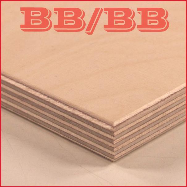 Wbp Birch Plywood Bb Bb Short Grain 1525 X 3050mm