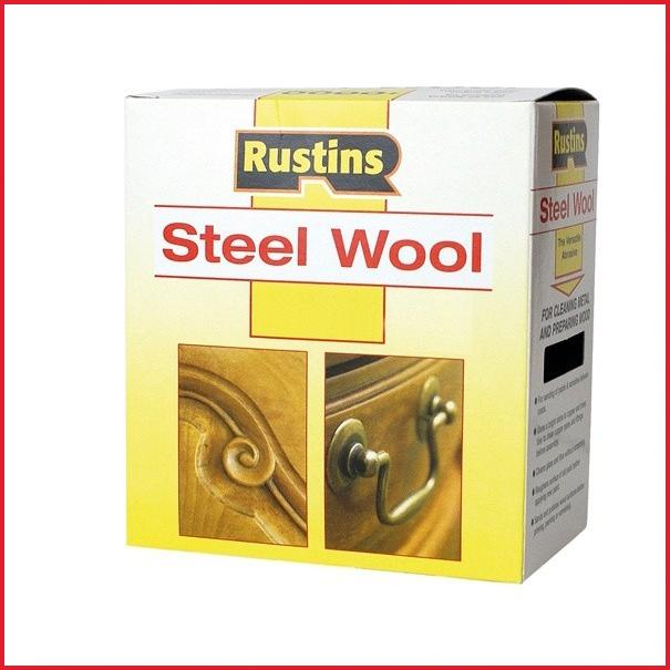 0000 Steel Wool Wax: Rustins Steel Wool Stripping Paint Removing Wax