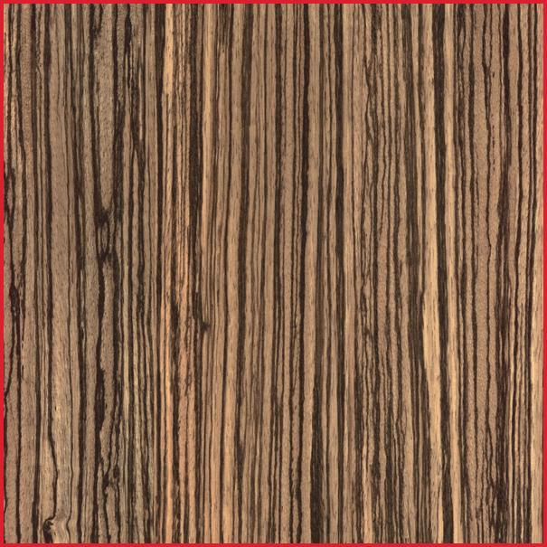 Zebrano Planed All Round Board Zebra Wood