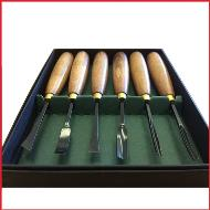 Crown Tools 6 pieces Beginners Wood Carving Set