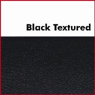 Unglued Black Textured Plastic ABS Edging