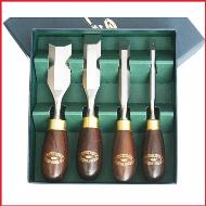 Crown Tools Butt Chisel Set 4pc