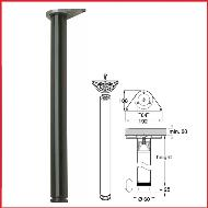Black Table Leg 870mm High