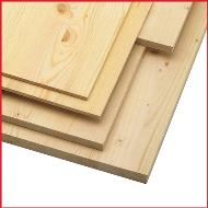 Solid Pine Furniture Panels