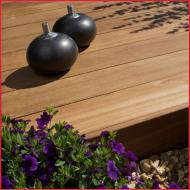 Castellated/Smooth Yellow Balau Hardwood Decking