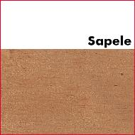 Sapele Unglued Wood Edging 2mm Thick