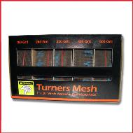Turners Mesh Sanding Pack 5 grits