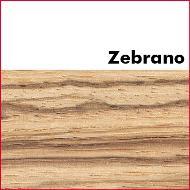 Zebrano Pre Glued Wood Edging 2mm Thick
