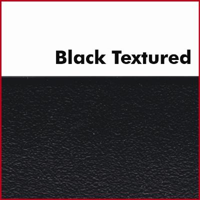 Black Textured Pre Glued Plastic Edging
