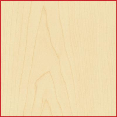 Maple MDF Half Sheet Lipped 2 Long Edges