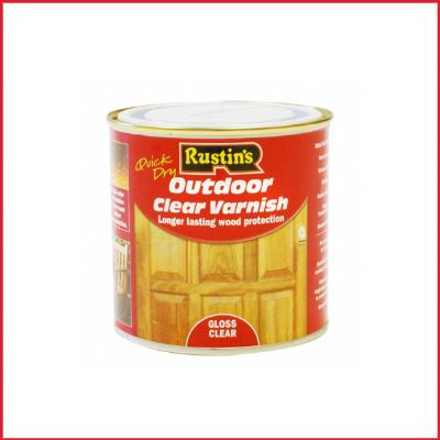 Rustins Quick Dry Outdoor Clear Varnish