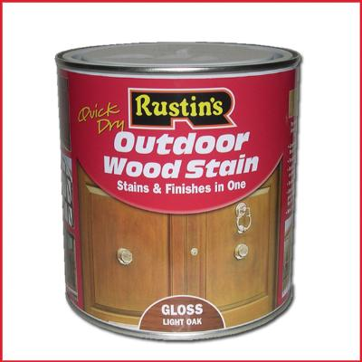 Rustins Quick Dry Outdoor Wood Stain