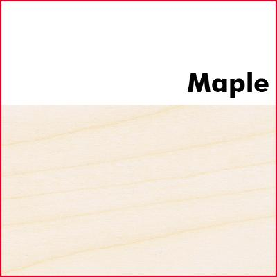 Maple Pre Glued Wood Edging 2mm Thick