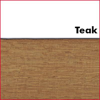 Teak Pre Glued Wood Edging 2mm Thick