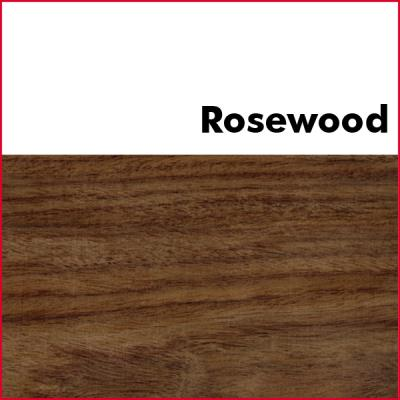 Rosewood Pre Glued Wood Edging 2mm Thick
