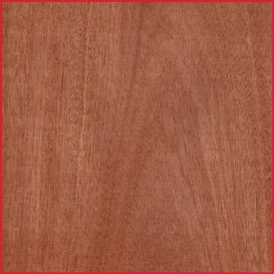 Sapele Crown Cut MDF Half Sheet Lipped 2 Long Edges