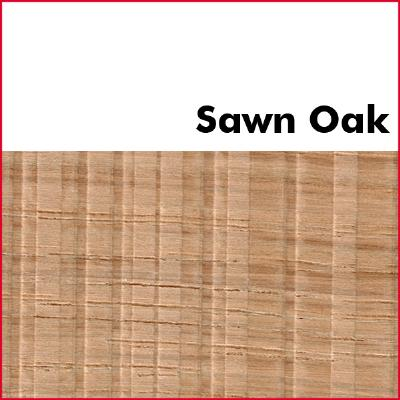 Sawn Oak Pre Glued Wood Edging 2mm Thick