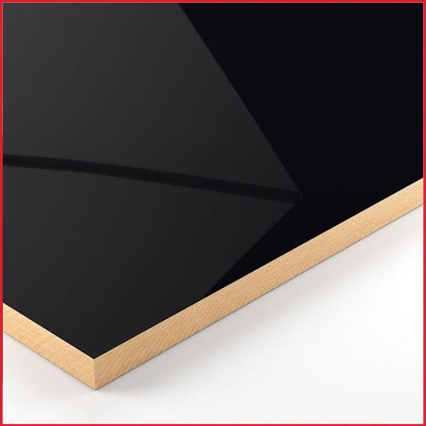 High Gloss Acrylic Mdf Black 2440 X 1220mm