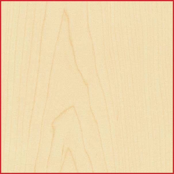 Maple Mdf Veneered Real Wood Sheet Material