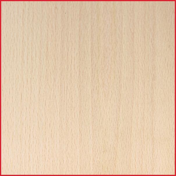 White Beech MDF Half Sheet Lipped 2 Long Edges