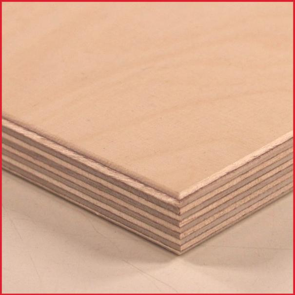 WBP Birch Plywood BB/BB Long Grain 2440 X 1220mm