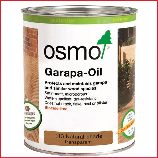 osmo decking oil 013 garapa. Black Bedroom Furniture Sets. Home Design Ideas